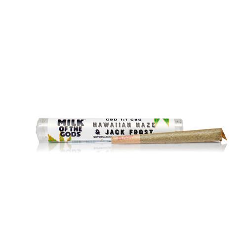 Pure Organic Hemp Flower Pre Rolls - Jack Frost 1g - 8.5% CBD / 7.5% CBG