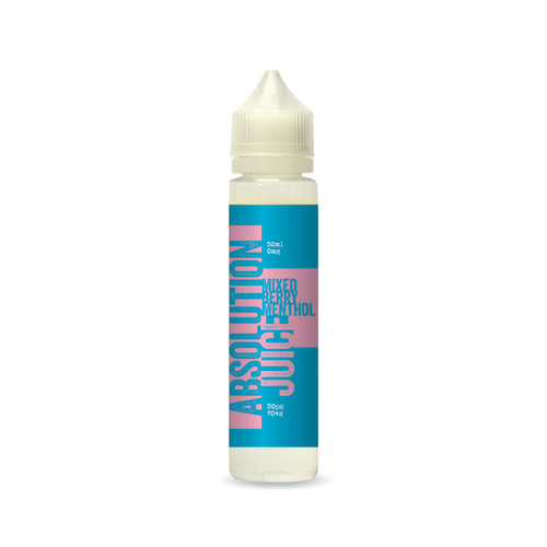 Absolution Juice  - Mixed Berry Menthol 50ml 0mg
