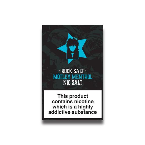 Rock Salt - Motley Menthol