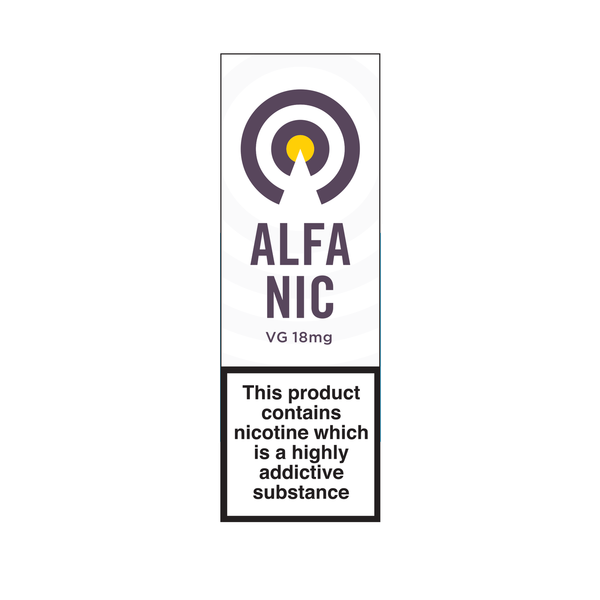 Alfa Nic Shot - 18mg VG 10ml