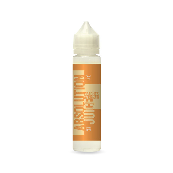 Absolution Juice  - Peaches and Cream 50ml 0mg