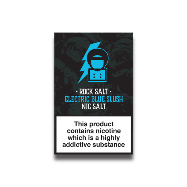Rock Salt - Electric Blue Slush