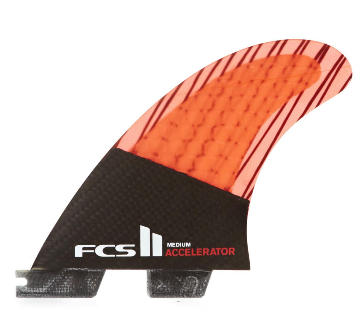 FCS II Accelerator PC Carbon Medium - Surfboard Fins a7d7fb7e1