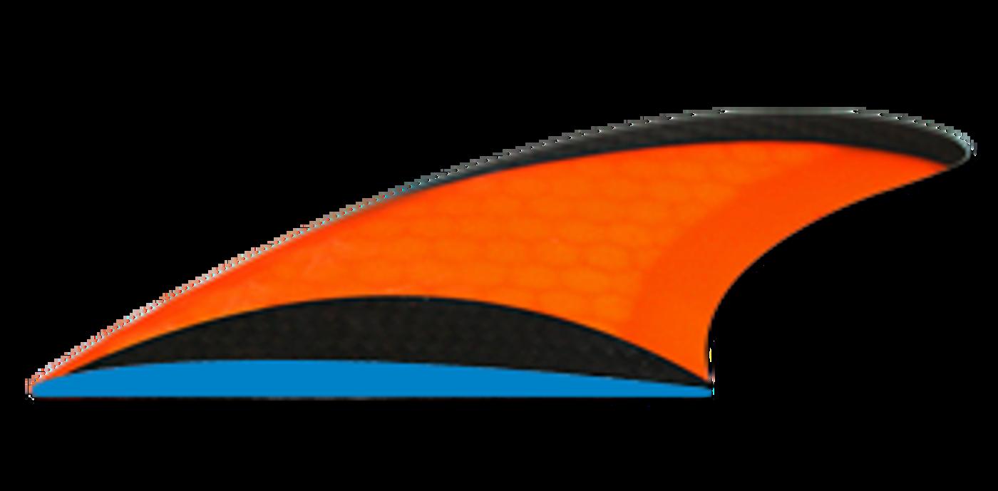 Flat Foil surf fins
