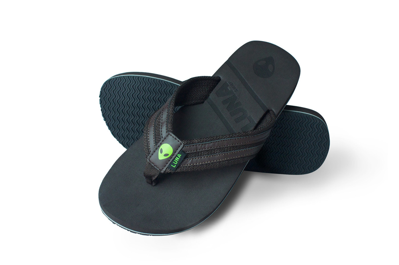 Lunasurf Brown Flip Flops