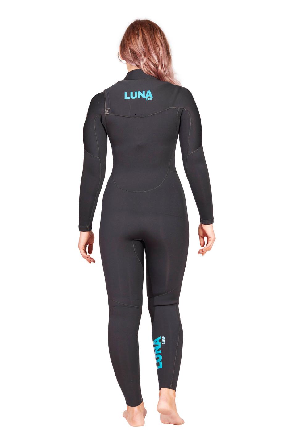 Lunasurf Womens 4.3mm Slant Zip Yamamoto Wetsuit