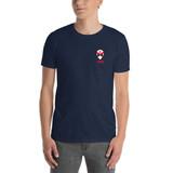 Jersey Alien Head Short-Sleeve Unisex T-Shirt