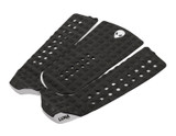 surfboard tail pad charcoal grey