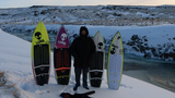 Lunasurf cold water traction Ian Battrick