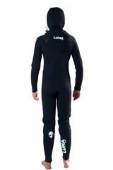 Lunasurf Childrens 6.4mm Hooded Slant Zip Yamamoto Wetsuit