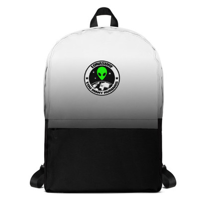Lunasurf Too Many Humans Logo Backpack