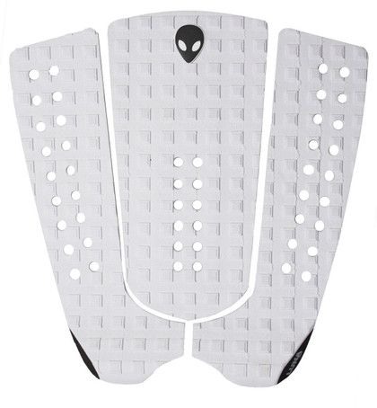 white surf tail pad