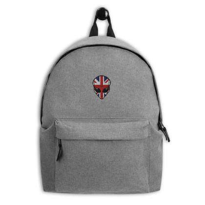 Luna Union Jack logo Embroidered Backpack