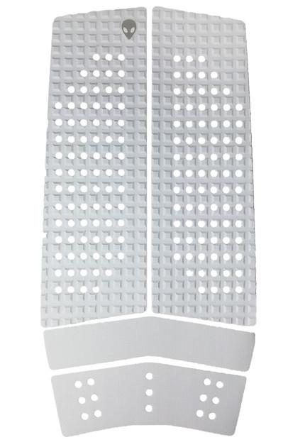 LUNASURF 4 Piece Front Deck Grip White
