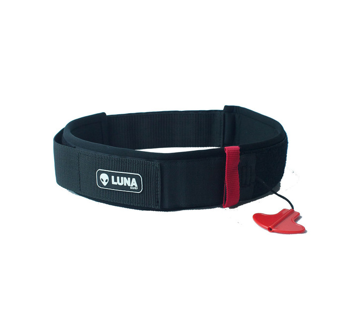 Our Lunasurf SUP Leash Belt is perfect for race, river or for fun.