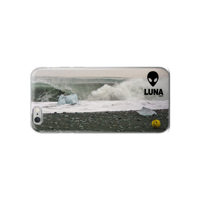 Lunasurf iPhone case 'Ian Battrick Ice Barrel'.