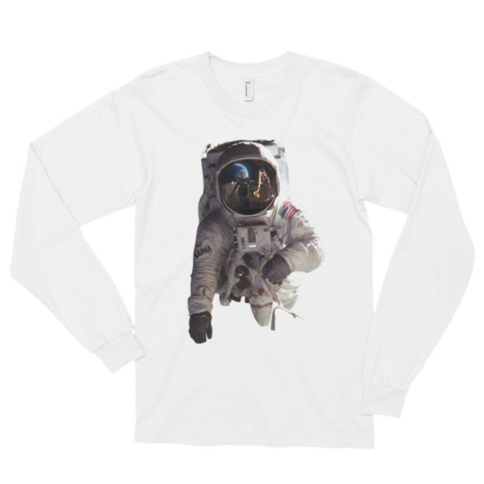 Alien Contact Long sleeve t-shirt (unisex)