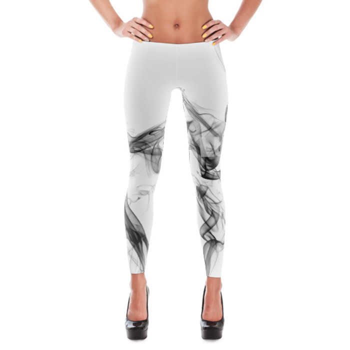 Luna Smoke Leggings White