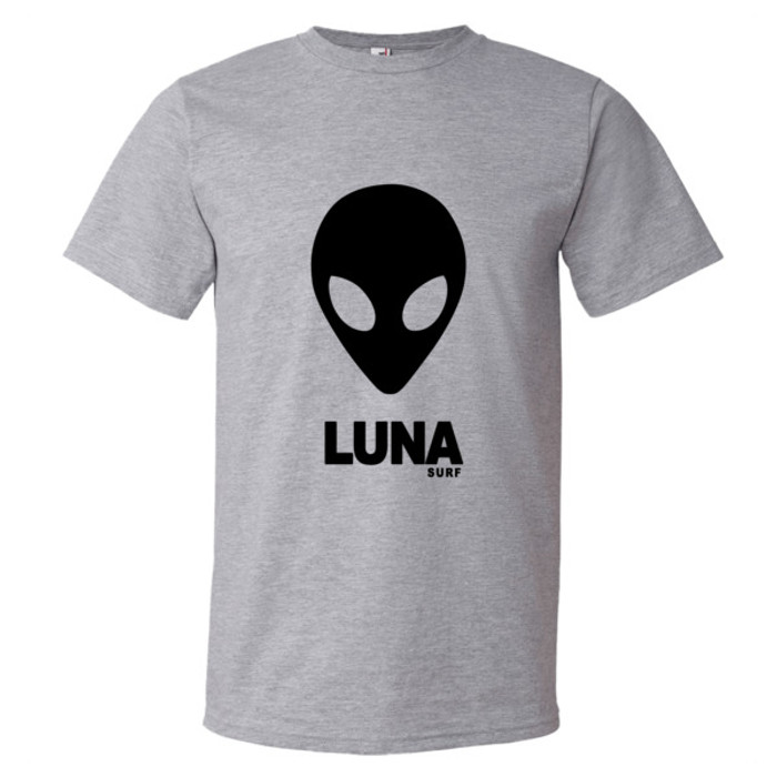 Luna Black Alien Logo Short sleeve t-shirt