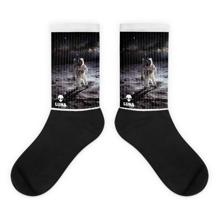 Moon Landing socks