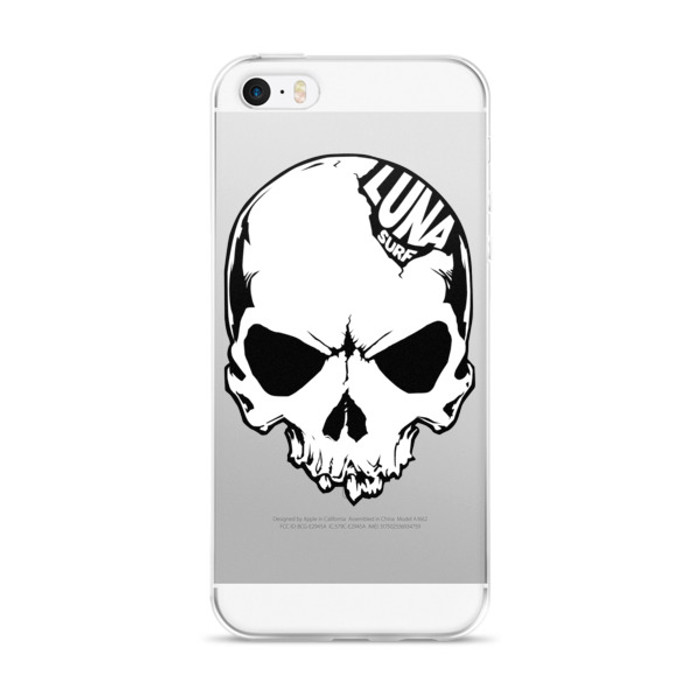 Luna Skull Logo iPhone case