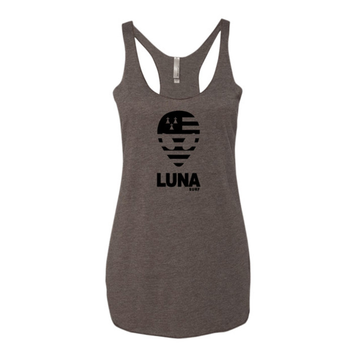 Luna Brittany Black Alien Logo Women's tank top