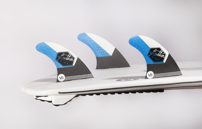 Vincent Duvi Duvignac signature Feather Fins thruster