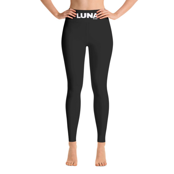 Lunasurf Black Yoga Leggings