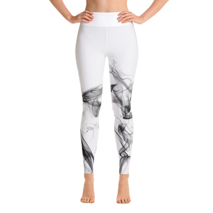Lunasurf Black Smoke Yoga Leggings