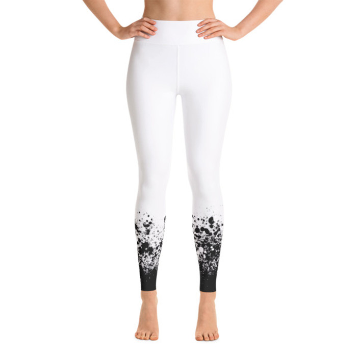 Lunasurf Speckle Yoga Leggings White
