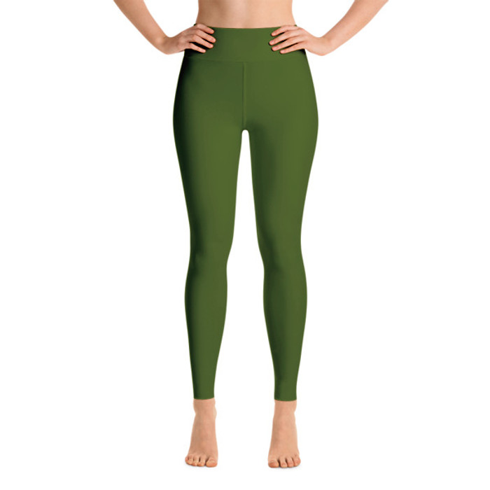 Lunasurf Yoga Leggings Olive Green