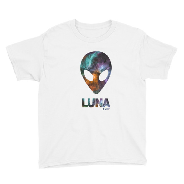Lunasurf Cosmic Alien Youth Short Sleeve T-Shirt