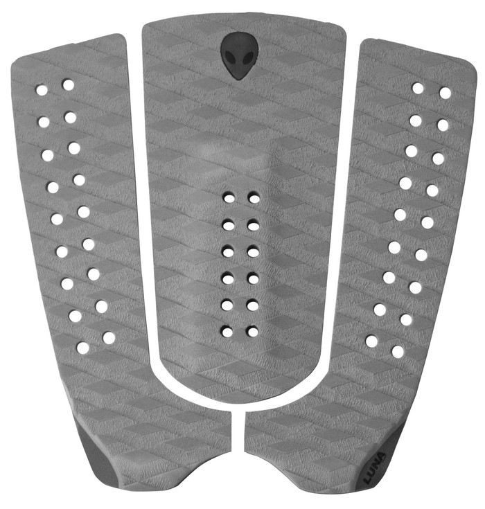 lunasurf grey tail pad surf