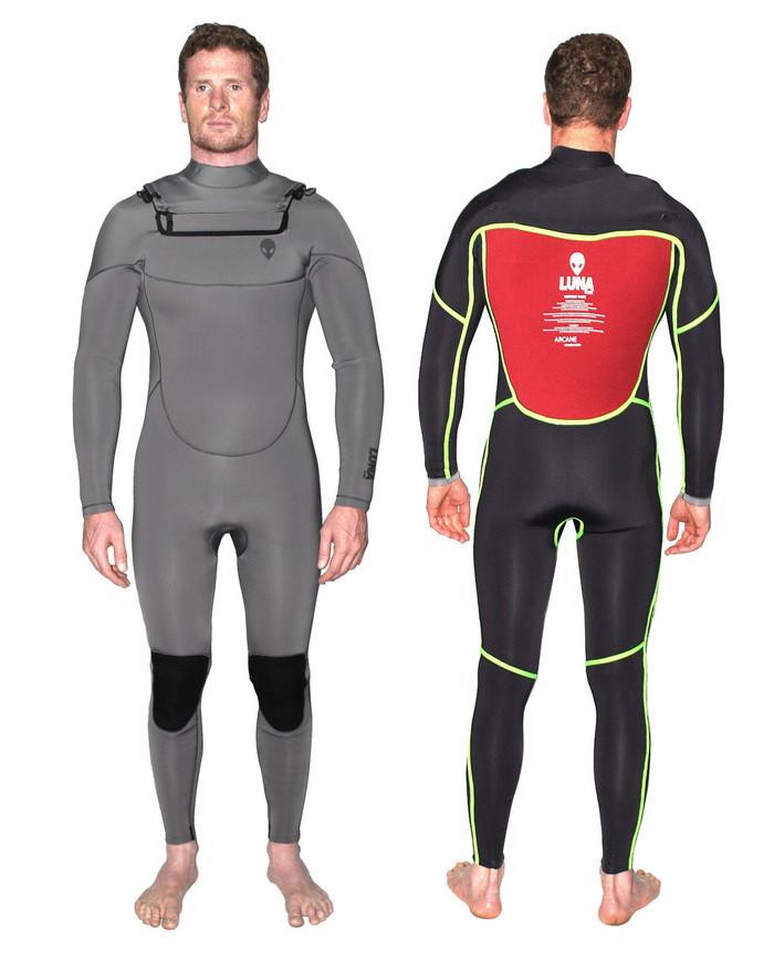 5.4mm wetsuit alien grey