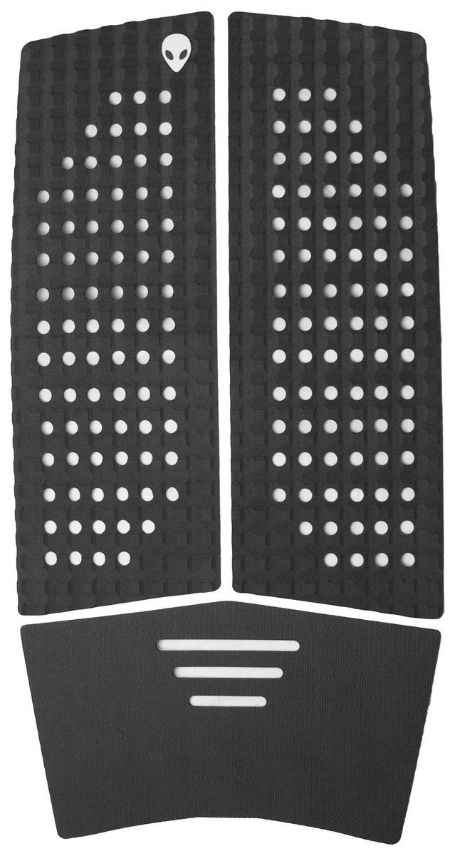 3 piece front foot pad charcoal grey