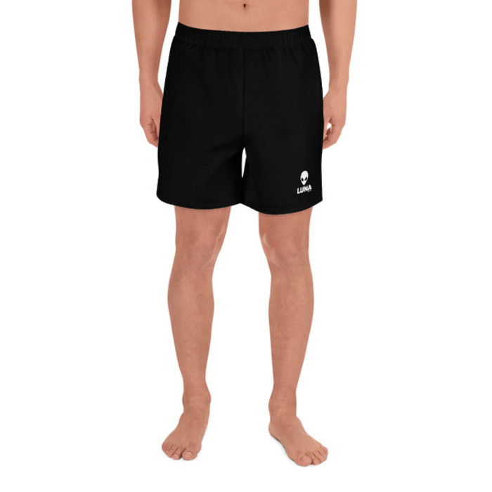 Lunasurf Men's Black Logo Shorts