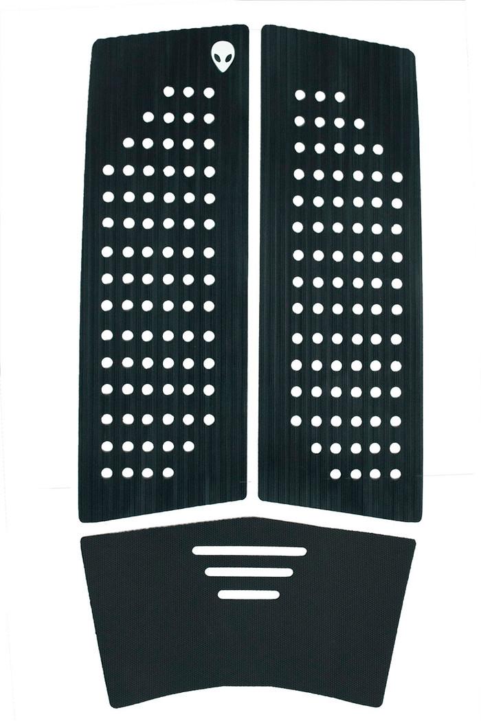 LUNASURF 3 Piece Front Deck Grip Black