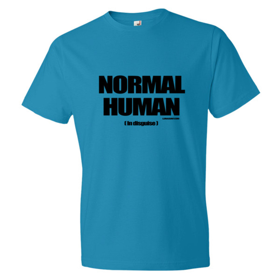Normal Human in Disguise Short sleeve t-shirt