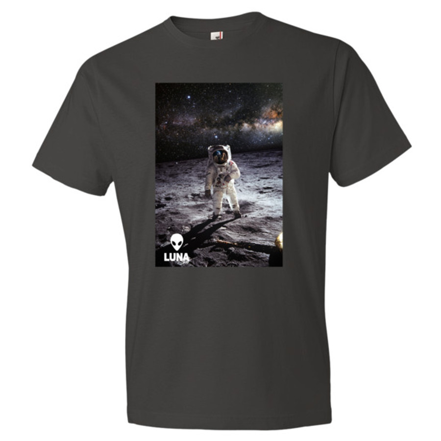 Alien Contact Milky Way Short sleeve t-shirt