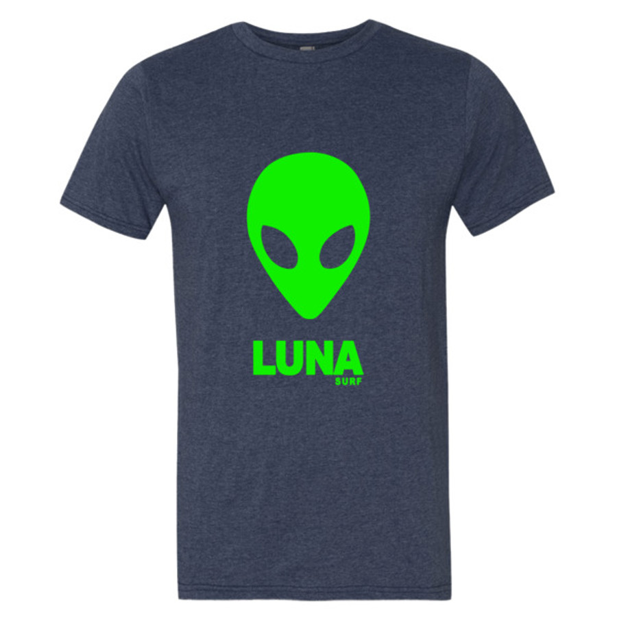 Luna Alien logo Short sleeve t-shirt