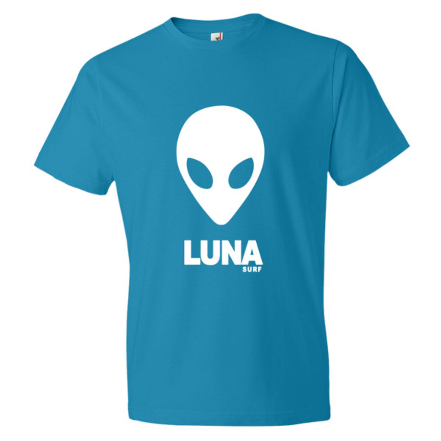 Luna White Alien Logo Short sleeve t-shirt