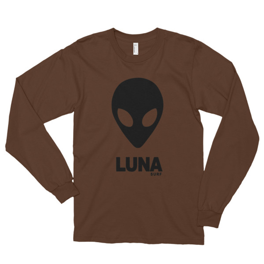 Luna Alien Logo Long sleeve t-shirt (unisex)