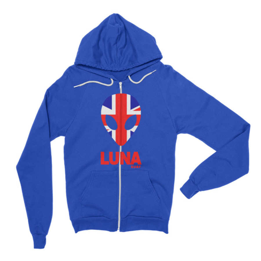 Luna Union Jack Zip Hoodie