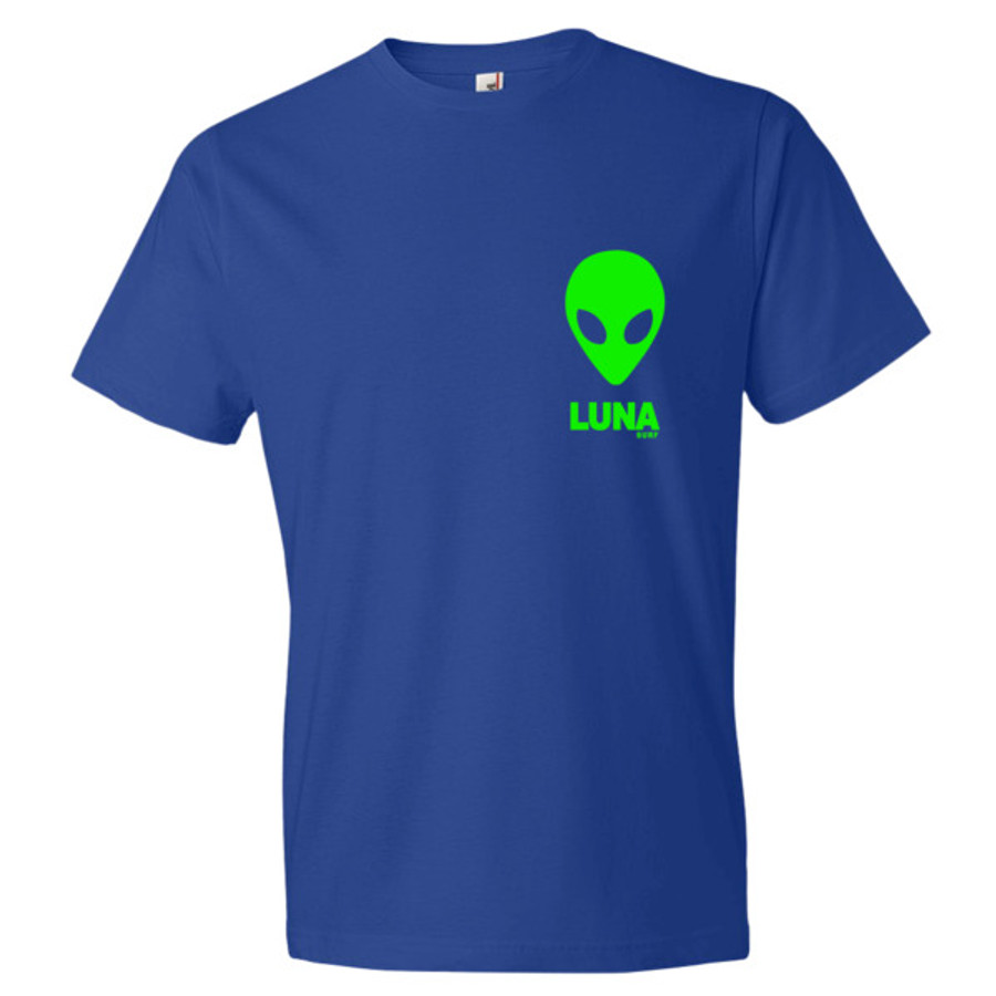 Chest Alien Logo Short sleeve t-shirt