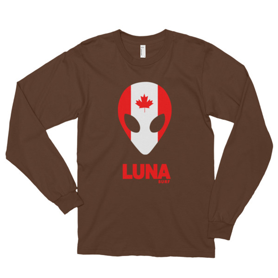 Luna Canada Long sleeve t-shirt (unisex)