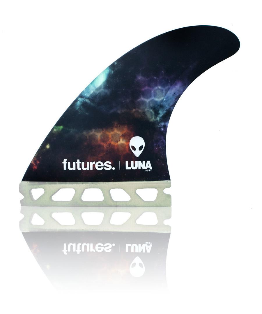 Lunasurf side fin future fins