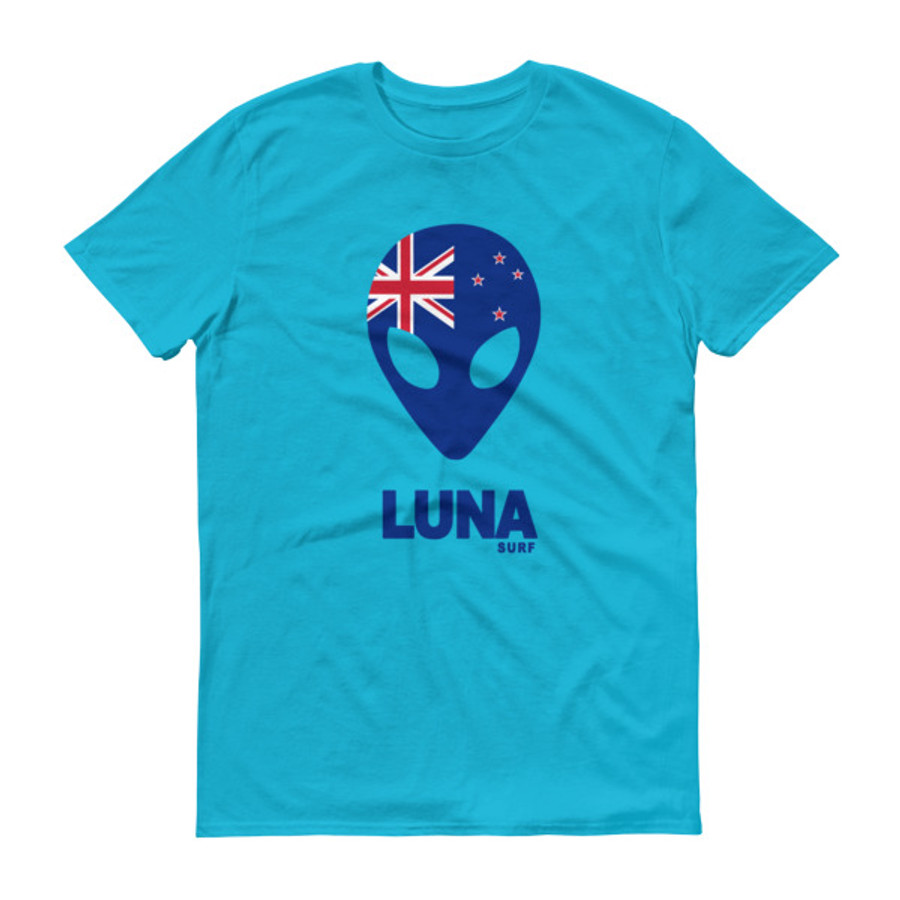 Lunasurf New Zealand  Alien Short sleeve t-shirt