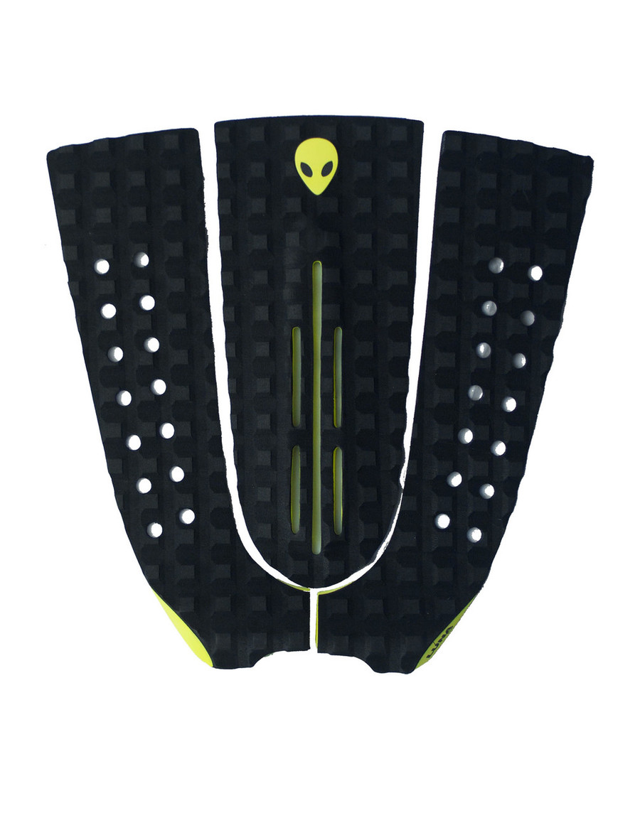 Lunasurf 3 piece tail pad square grooved.