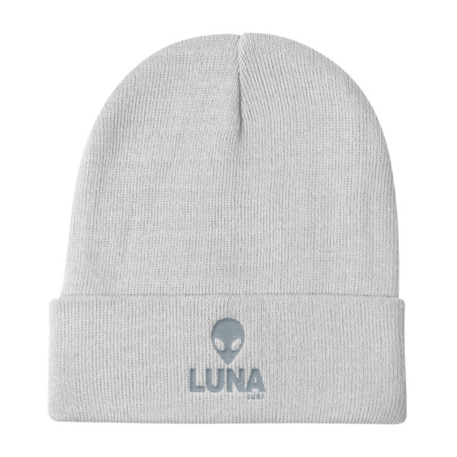 Alien Grey Knit Beanie