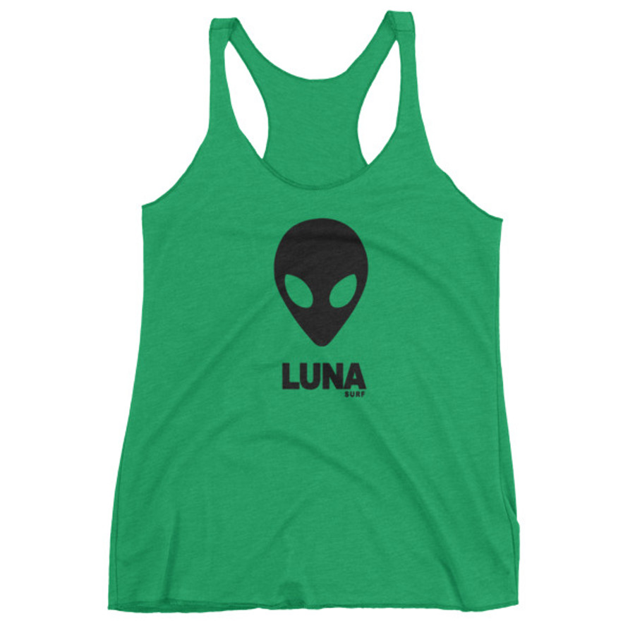 Women's Alien Black / Too Many Humans tank top